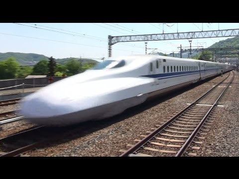山陽新幹線 高速通過集 MAX.speed 300km/h Japanese Bullet Train - Shinkansen