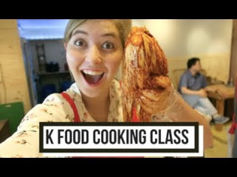K-FOOD : The Best Cooking Class In Gwangju- South Korea