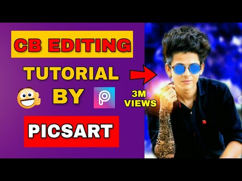Taukeer editing tutorial by picsart || Edit Like Photoshop || Picsart Editing Tutorial (видео)