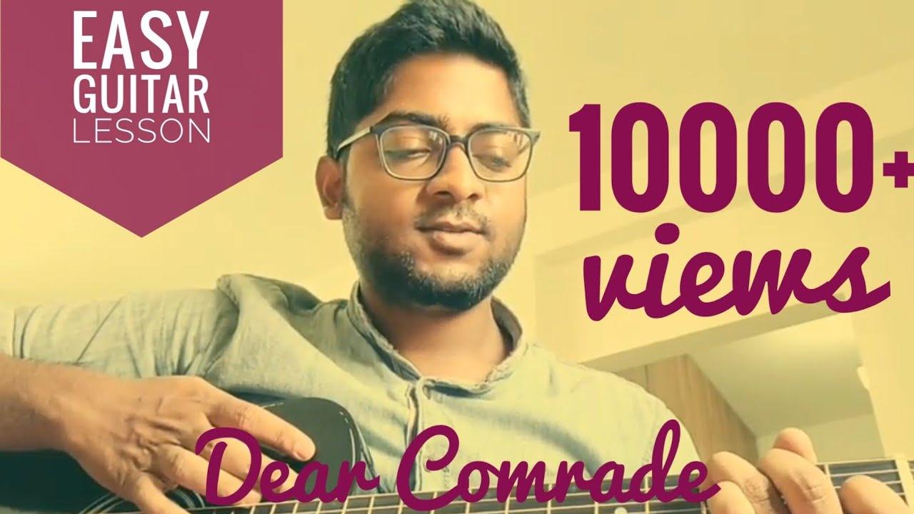 Dear Comrade songs – Nee neeli kannulona Cover | Guitar Chords & Tabs | Vijay Deverakonda | Rashmika