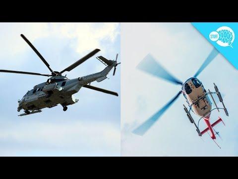 這位攝影師錄影錄到「直升機飄上空中但是主旋翼卻不會動」,奇特秘密一揭開大家都長知識了!