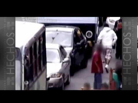 Video de robo en el Centro del DF