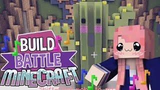 Kawaii Cactus & A Poodle!   Build Battle   Minecraft Building Minigame