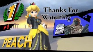Partially Peach – SSB4 Peach Montage
