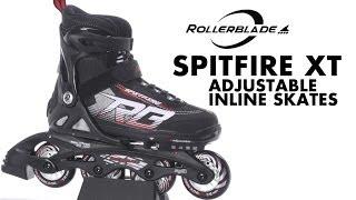 Огляд дитячих роликів Rollerblade spitfire 2014 (англійською)
