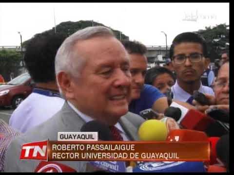 Otro artefacto explosivo detonó en la Universidad de Guayaquil