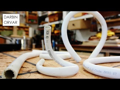 How To Bend PVC & Make Incredible Shapes #Hack