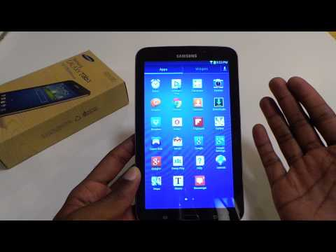 Samsung Galaxy Tab 3 Wifi (7 inch) Review