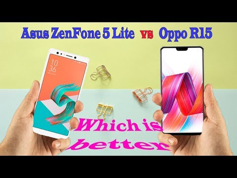 Asus ZenFone 5 Lite VS Oppo R15    Which is better