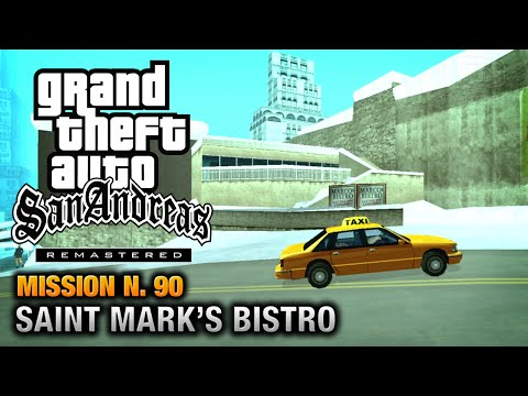 Gta San Andreas Remastered - Mission #90 - Saint Mark's Bistro (xbox 360 / Ps3)