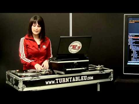 TurntableU.com Lesson – DJ Shortee – Intro / Mixing Basics / Baby Scratch
