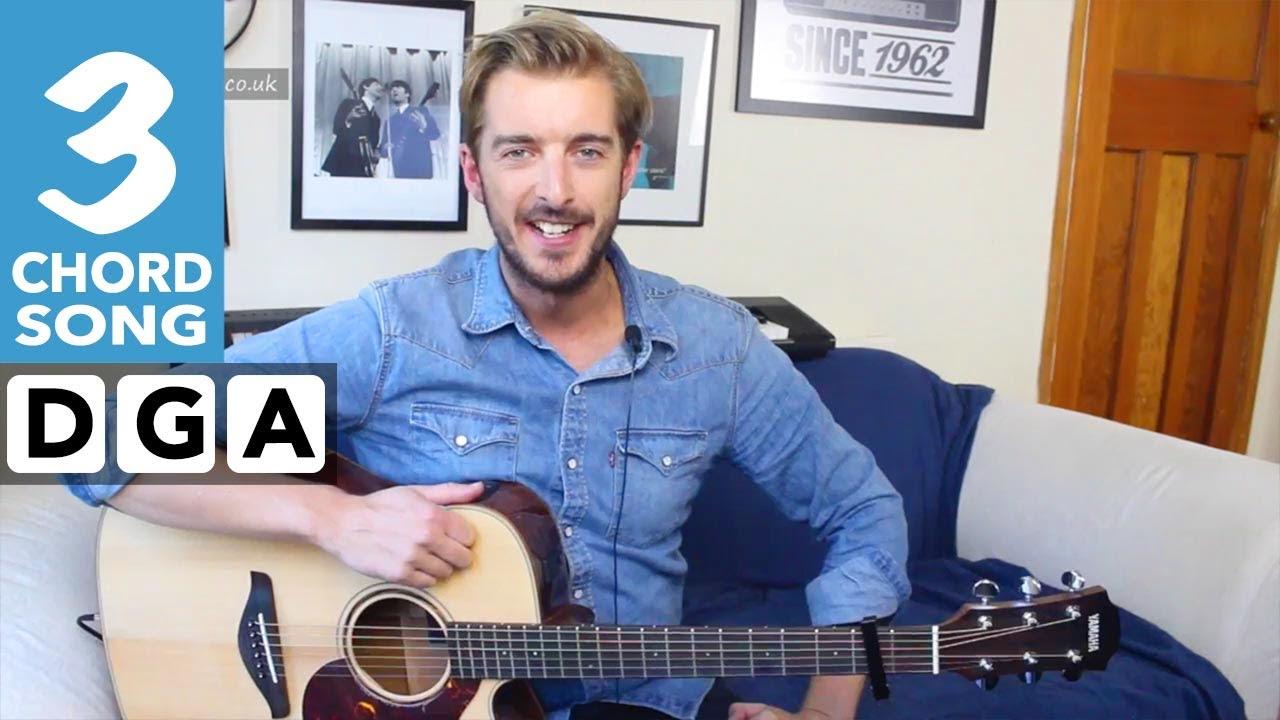 3 Chord Guitar Songs For Beginners- Cheerleader – OMI – EASY Guitar Tutorial