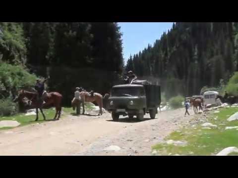 Куrgуzsтаn. Григорьевское ущелье. Киргизия. Иссык-Куль - DomaVideo.Ru