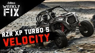 """10. 2019 RZR XP TURBO S """"VELOCITY"""" Announced! King of Hammers This Weekend, & More!"""