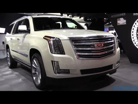 Fab Five SUVs of the 2015 Detroit Auto Show
