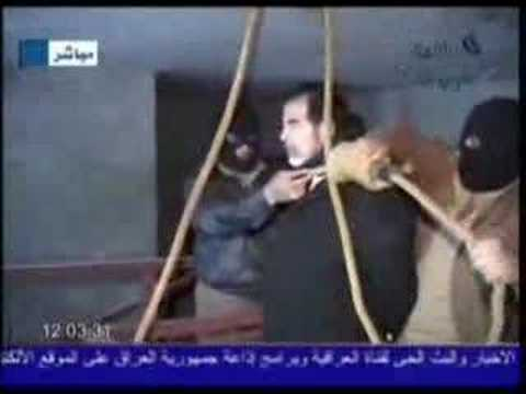 hussain - Saddam Hussain Death Sentence Exectued in Baghdad, on December 30th 2006 at 5:45 AM.
