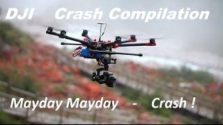 Dji Phantom - Crash Compilation - Avoid these Mistakes