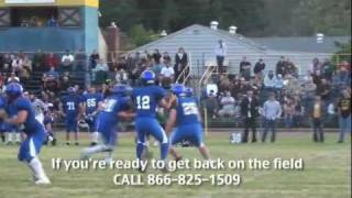 Cloverdale (IN) United States  city photos gallery : Cloverdale vs Willits Alumni Football USA Game 5/13/11