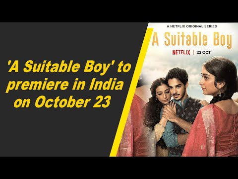 'A Suitable Boy' to premiere in India on October 23