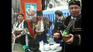 Beregovo Ukraine  city photo : Kossaks traditional dish on wine festival in Ukraine, Beregovo
