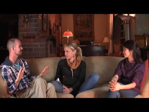 Out of the Blue Comes Frances Xu - Advaita meets ACIM