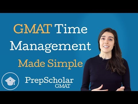 GMAT Time Management Made Simple