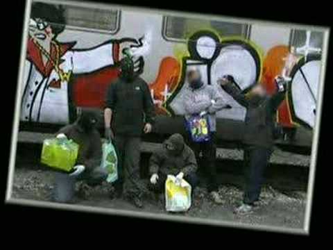 tags - reportage du graffiti a france.