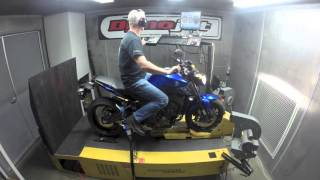 10. 2016 Yamaha FZ-09 DYNO RUN VIDEO