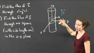 Flux Through Easy Surfaces | MIT 18.02SC Multivariable Calculus, Fall 2010