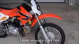 8. Used Honda CRF70 Dirt Bike For Sale / Honda of Cha