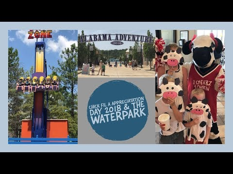 Chick Fil A Appreciation Day 2018 and Splash Adventure