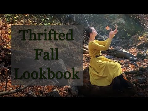 Thrifted Fall Lookbook видео