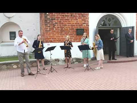 Valmieras Sv.Sīmaņa baznīcas torņa atjaunoto iekštelpu atklāšana