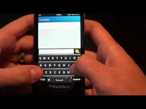 Text Messaging - See how text messaging looks on BlackBerry 10.