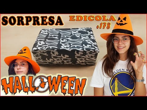 HALLOWEEN Pacco SORPRESA FASHION MAKE-UP (EDICOLA by Giulia Guerra) (видео)
