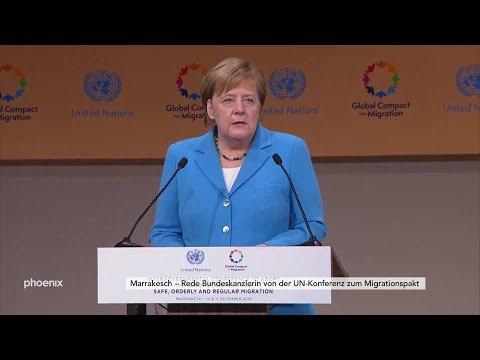 Rede von Angela Merkel zum Migrationspakt auf der UN- ...