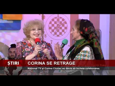 """Corina Chiriac se desparte de emisiunea """"Opriți Timpul"""""""