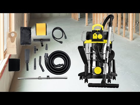 Parkside Wet and Dry Vacuum Cleaner PNTS 1500 C4