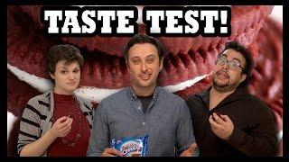 RED VELVET OREOS TASTE TEST!!! - Food Feeder