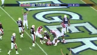 Tyler Wilson vs Auburn (2010)