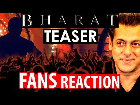 FANS REACTION On Salman Khan's Bharat First Teaser
