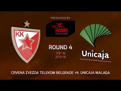 Highlights: Top 16, Round 4, Crvena Zvezda 87-73 Unicaja Malaga