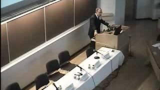 Conference On Global Regulation Of Nanotechnologies Part V