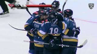 Первый гол Овитю в КХЛ