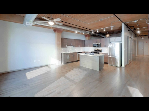 Tour a spacious one-bedroom at The Lofts at River East in Streeterville