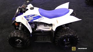 9. 2018 Yamaha YFZ 50 Youth Sport ATV - Walkaround -2017 Drummondville ATV Show