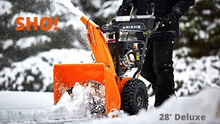 2. Ariens 28' Deluxe SHO review