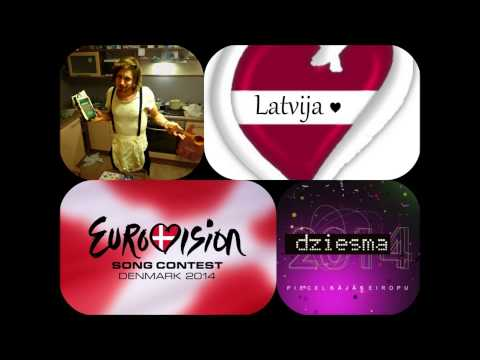 EIROVIZIJA - Cake To Bake (Add Love Version) ESC 2014 candidate for Latvia, performed by Aarzemnieki.