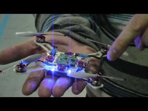Nano quadcopter wii