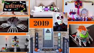 10 AMAZING DIY Halloween Decor Ideas | DIY Dollar Tree Halloween Decor | 2019